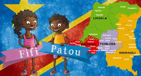 «Fifi et Patou» – L'apprentissage des langues africaines pour les enfants