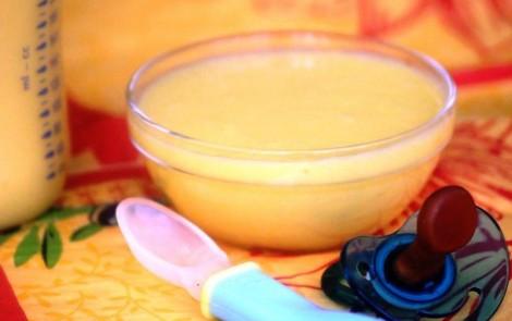 Bouillie de maïs à la mangue