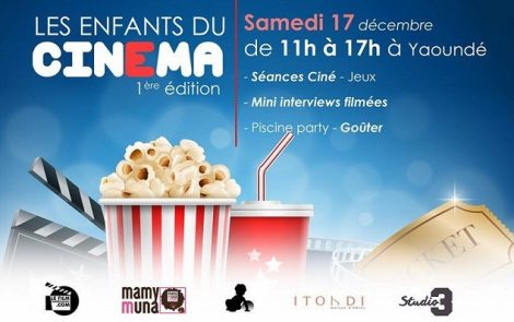 LeFilmCamerounais.com organise «Les enfants du cinéma»