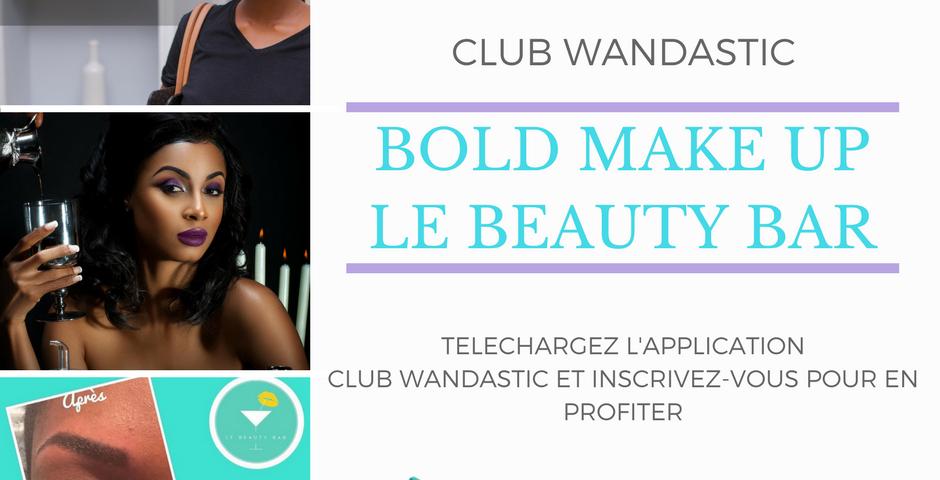 Des coupons de réduction beauté disponibles dans le Club Wandastic