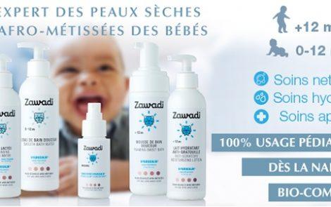 A la découverte de la gamme de produits Zawadi pour la peau des bébé afro