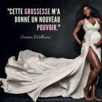A cause de problèmes de santé, Serena Williams avait très peur de tomber enceinte