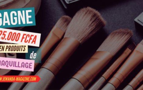 Je Wanda Magazine te fait gagner 25.000 FCFA en produits de maquillage