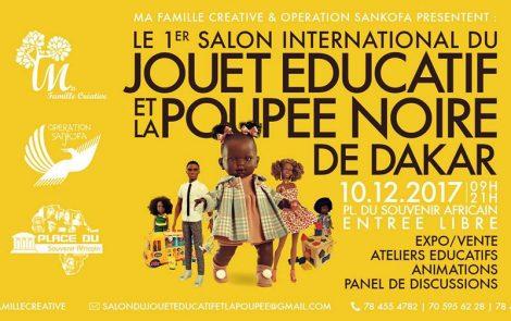 Le Salon International du Jouet Éducatif de la Poupée Noire à Dakar