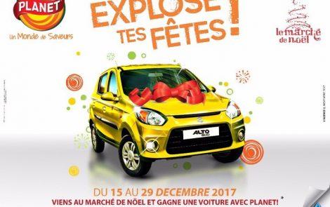 Explose tes fêtes de fin d'année du 15 au 29 décembre 2017