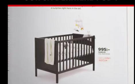 Ikea vous fait faire un test de grossesse pour avoir des réductions