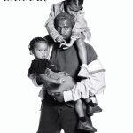 Kanye West et ses enfants
