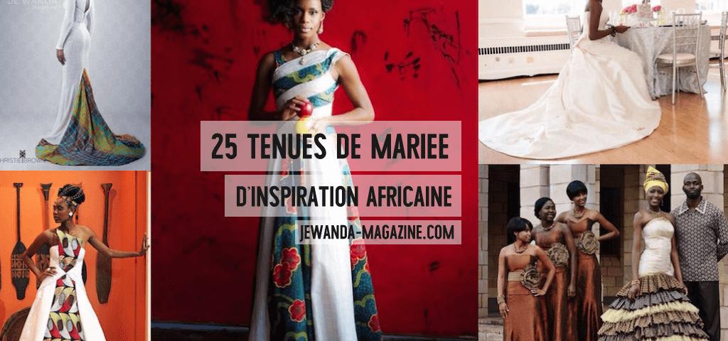 25 superbes tenues de mariée d'inspiration africaine