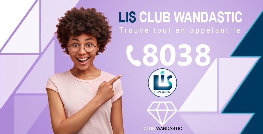 «Lis Club Wandastic», votre nouveau service de renseignements et de mise en relation