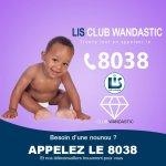 Vous recherchez une nounou ? Appelez Lis Club Wandastic au 8038