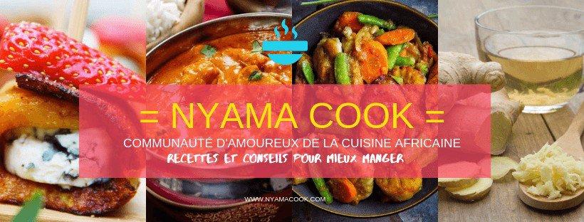 Nyama Cook, site de recettes africaines et de conseils en nutrition