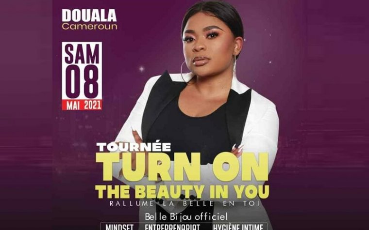 «Turn On The Beauty in You», la tournée pour sensibiliser la femme sur son intimité avec Belle Bijou, le 8 mai à Douala